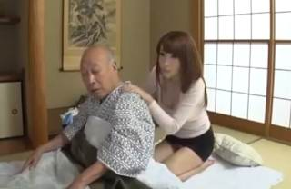 GVG-085 Forbidden Care Daughter-in-law Miyano Yukana To Her Father-in-law