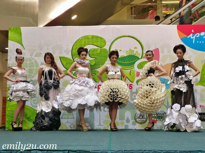 SUB Beauty Ipoh green fashion show
