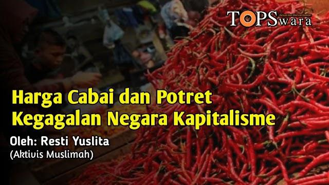 Harga Cabai dan Potret Kegagalan Negara Kapitalisme