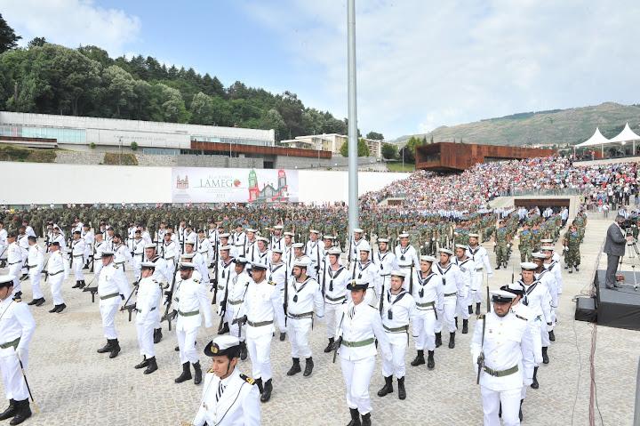 Lamego recebeu com orgulho as comemorações do Dia de Portugal