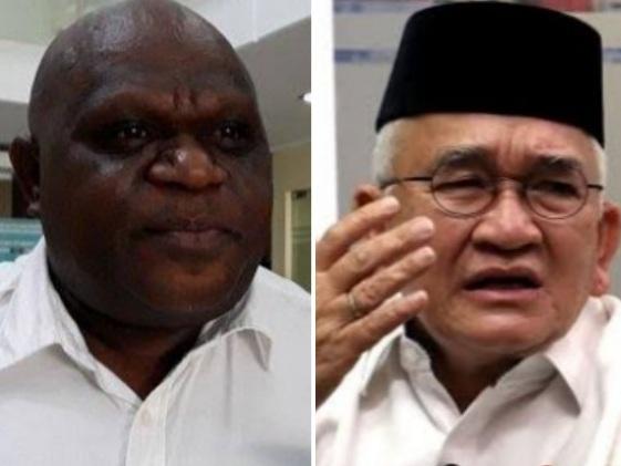 Natalius Pigai Bantah Singgung Jokowi dan Ganjar, Ruhut Sitompul: Anda Sudah Offside, Akui Saja