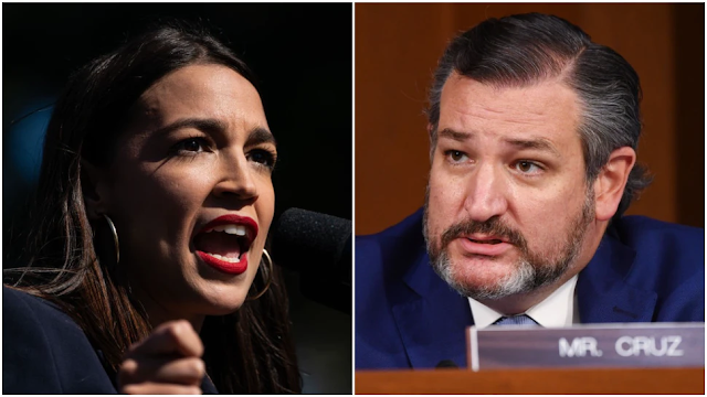 Ocasio-Cortez To Cruz: Your Twitter Feed Is 'Embarrassing.' Cruz: 'AOC Seems Not To Know There Are Democrats In Senate'