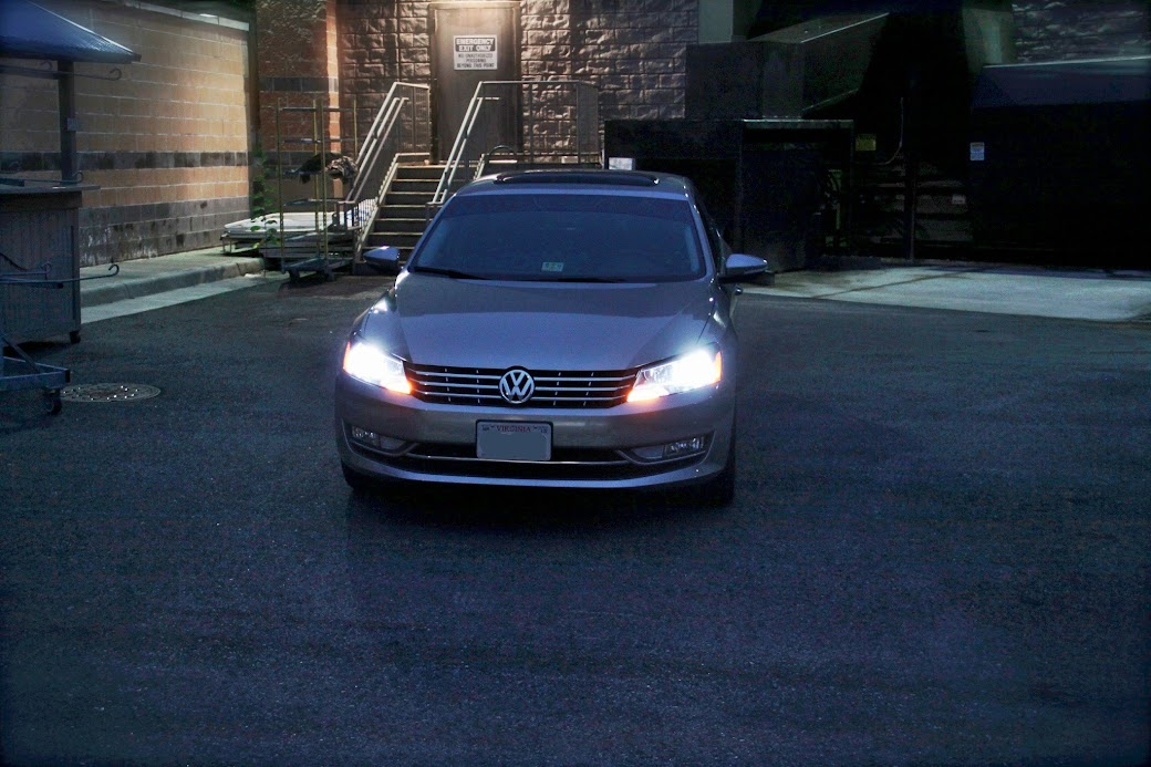 2013 passat headlight bulb