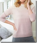 Pure Collection Cashmere Fairisle Sweater - some colours and sizes left 25% off