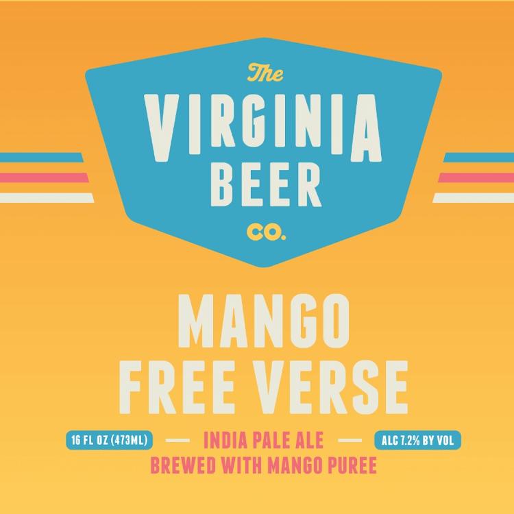 Logo of Virginia Beer Co. Mango Free Verse