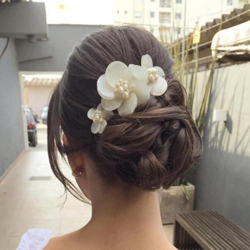 Top Smart Wedding Hair Updos In Current Year For Brides 2017-2018 10