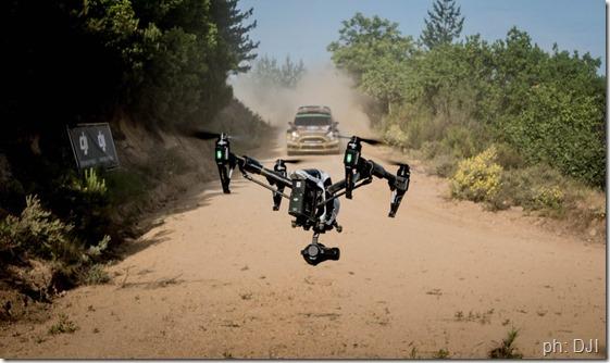 drone dji rally italia sardegna