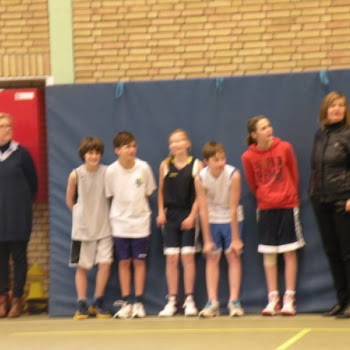Basketfinale leerlingen 2013