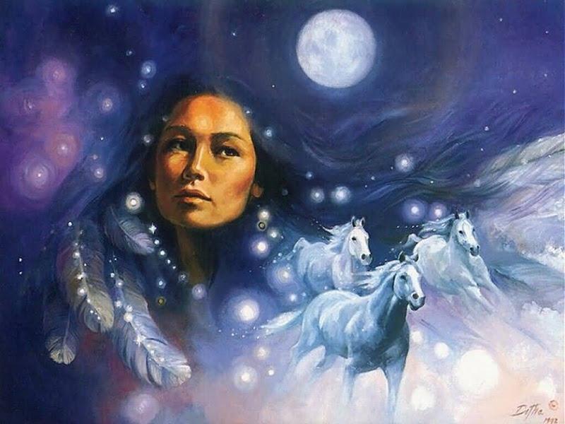Moon Goddess Sky, Goddesses