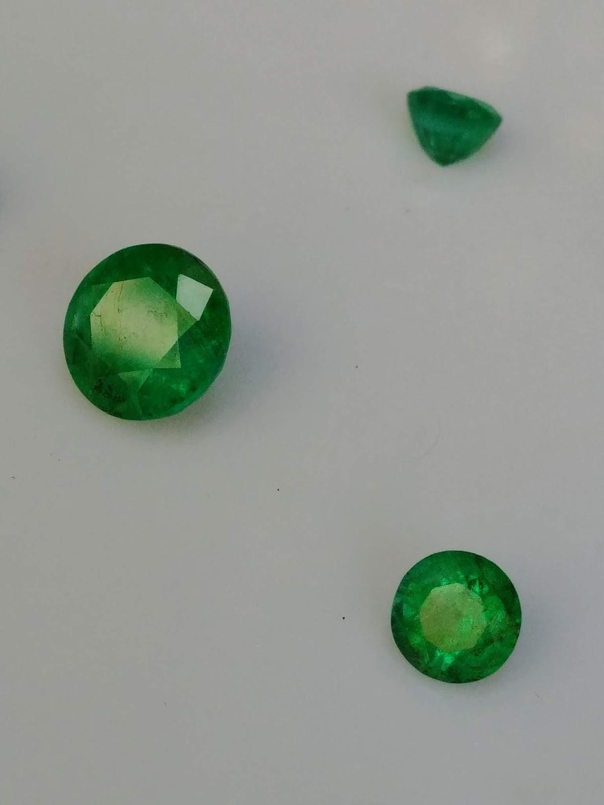 Ngọc Lục Bảo, Natural Emerald Colombia