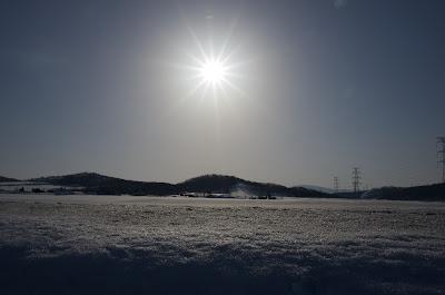 北竜町の景色・2013年3月