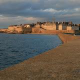 Saint-Malo depuis le Môle