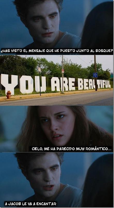 el mensaje romatico