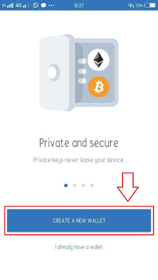 cara membuat wallet crypto