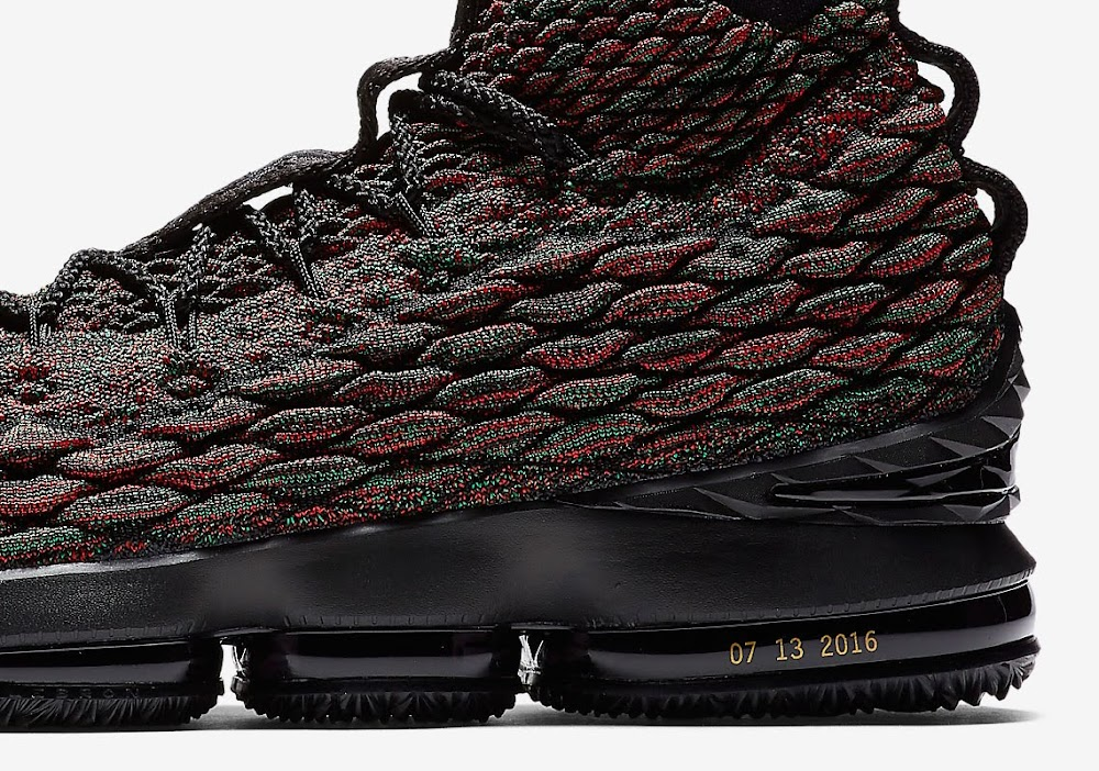 huge discount 9d096 42349 Nike LeBron 15 BHM is a Tribute to James Speech at ESPYs ...