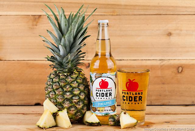 Portland Cider Releases Pineapple Seasonal Cider