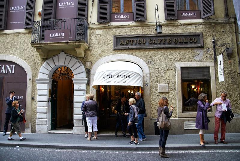 8. Antico Caffe Greco. Via dei Condotti. Rome. 2013