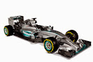Mercedes W06 rightfront view