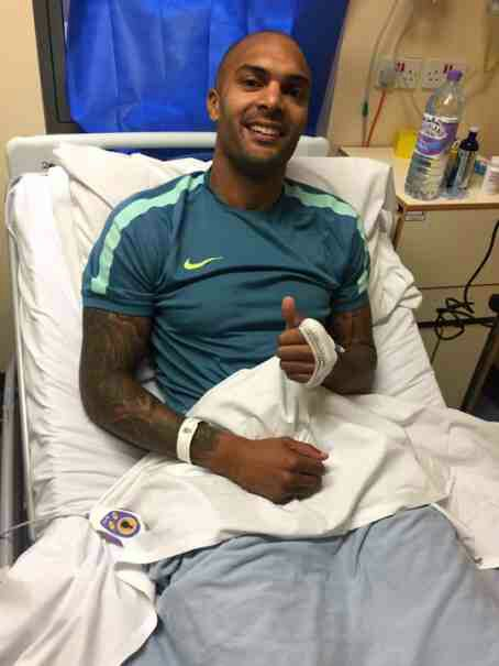 PHOTOS: Carl Ikeme Receiving Treatment In Hospital
