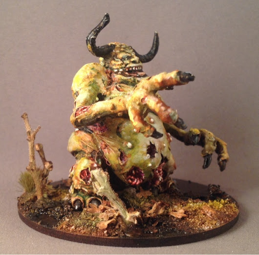 Nurgle army #13 - Citadel 28mm Converted Great unclean one
