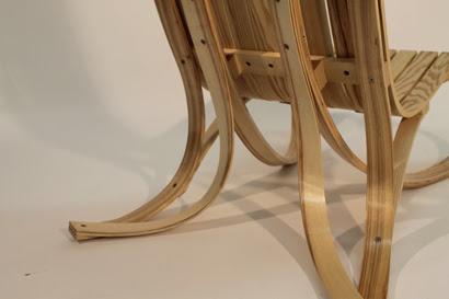 wood chair mat