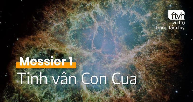 Messier 1 - Tinh vân Con Cua