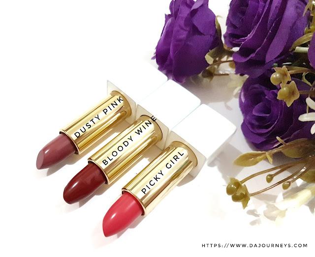 [Review] Romand Crazy Payoff Matte Lipsticks