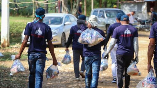 Plan Social entrega alimentos a más de 13,000 familias en zonas fronterizas del país