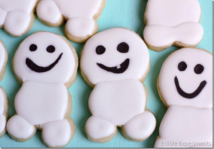 Frozen Fever Sugar Cookies-Snowgies