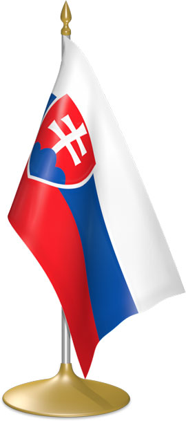 Slovak table flags - desk flags