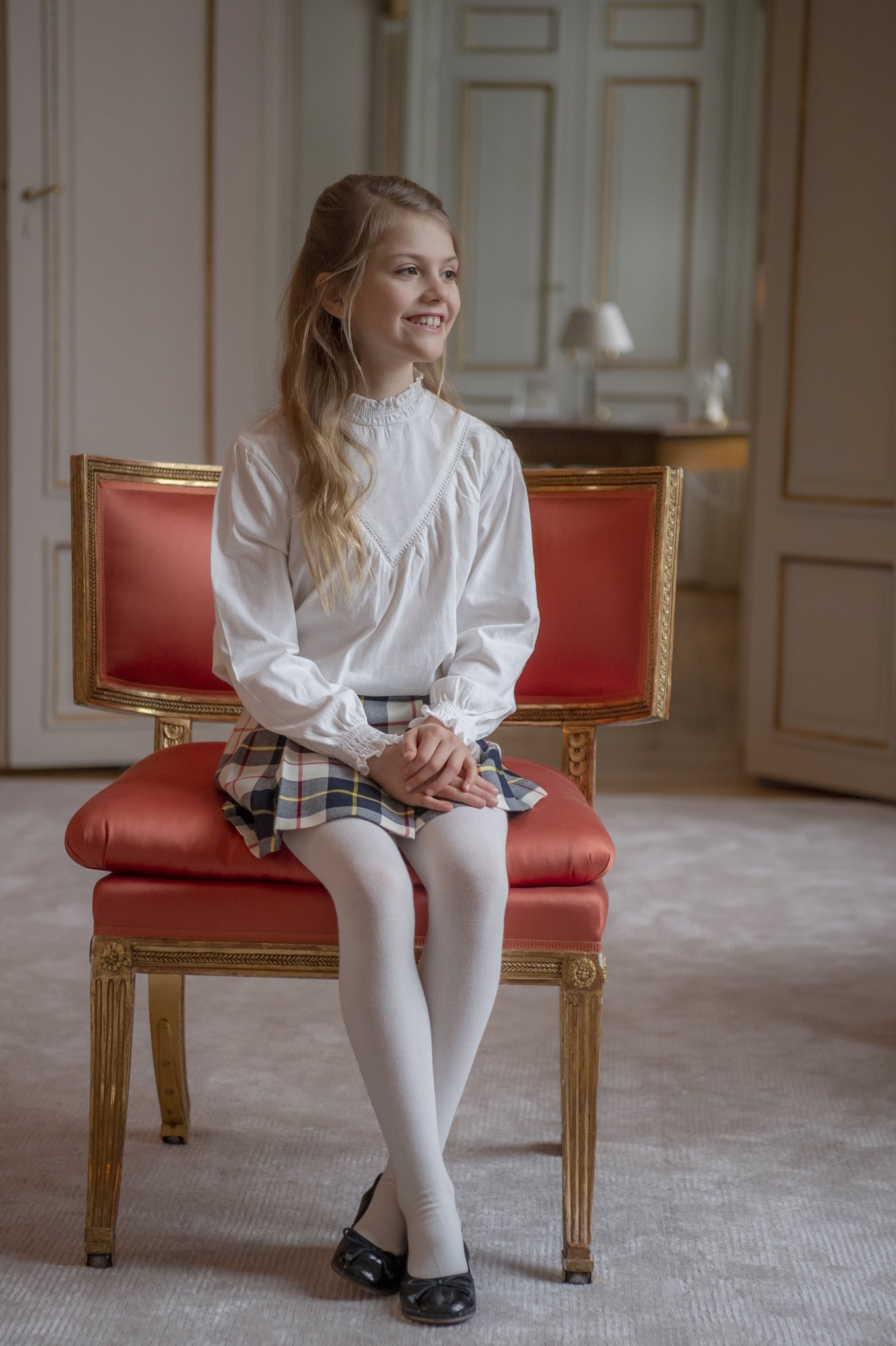 Crown Princess Victoria and Prince Daniel released new pictures of Princess Estelle