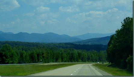 approaching Blairsville