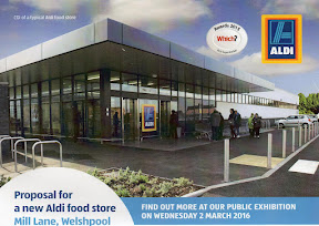Aldi plans on show today