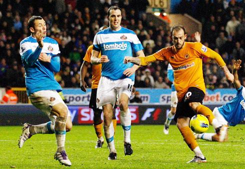 Steven Fletcher, Wolves - Sunderland