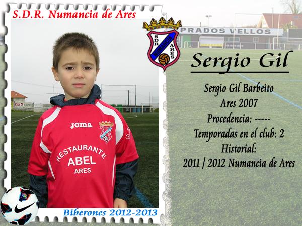 ADR Numancia de Ares. Sergio Gil.
