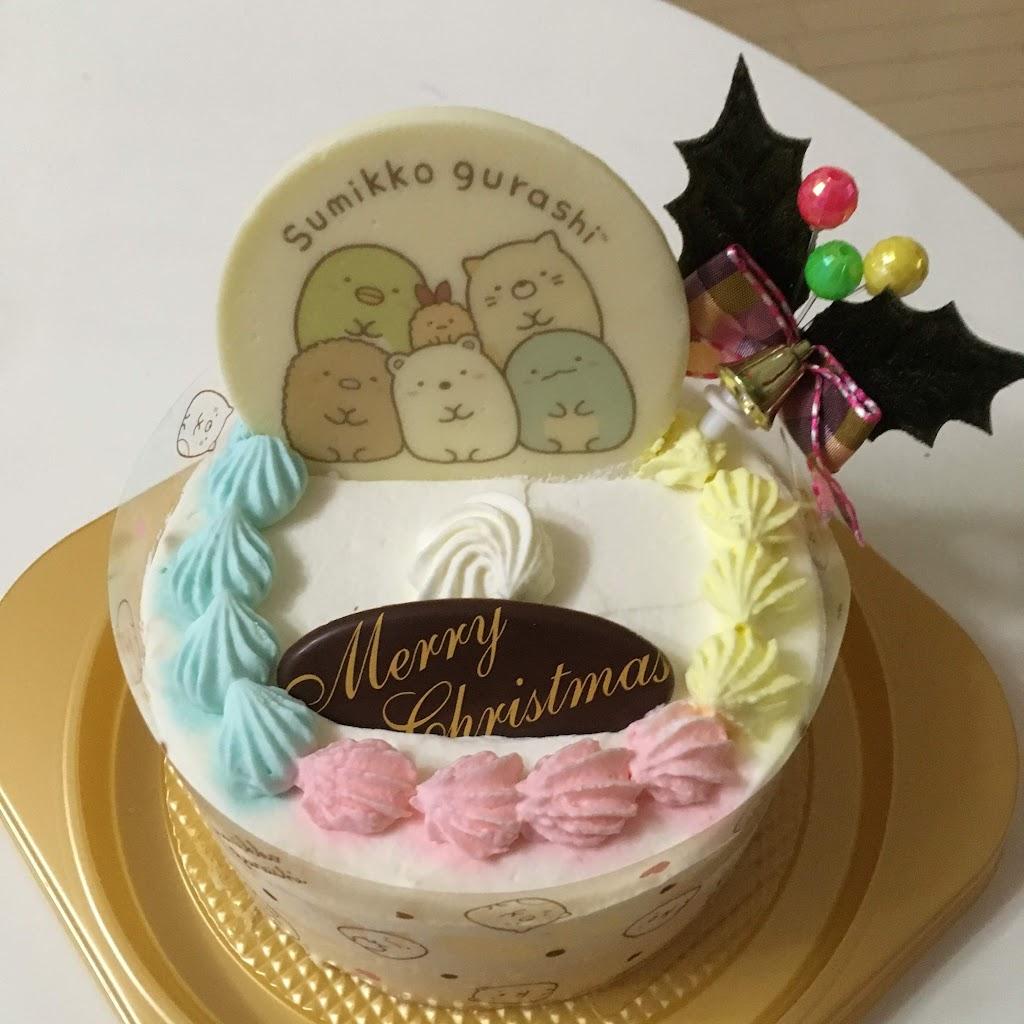 すみっこぐらし クリスマスケーキの写真