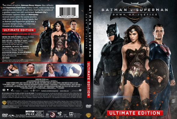 Batman v. Superman: Dawn of Justice – Latino, Inglés, Francés – DVD9