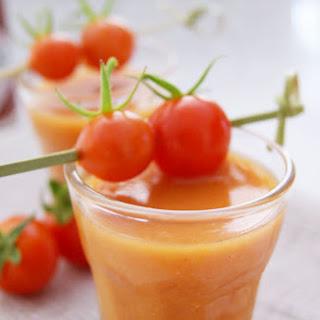 A Refreshing Gazpacho Soup.