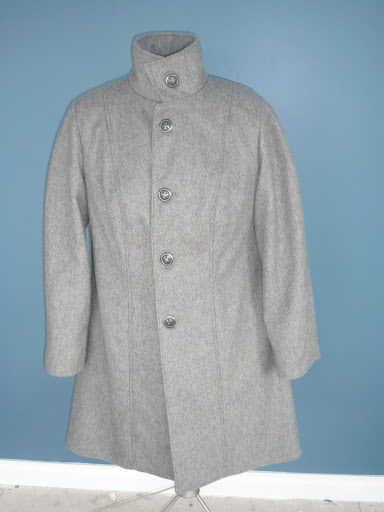 Completed coat - front