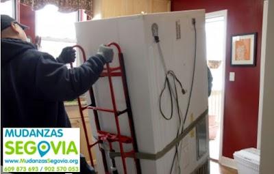 Mudanzas a pisos en Segovia