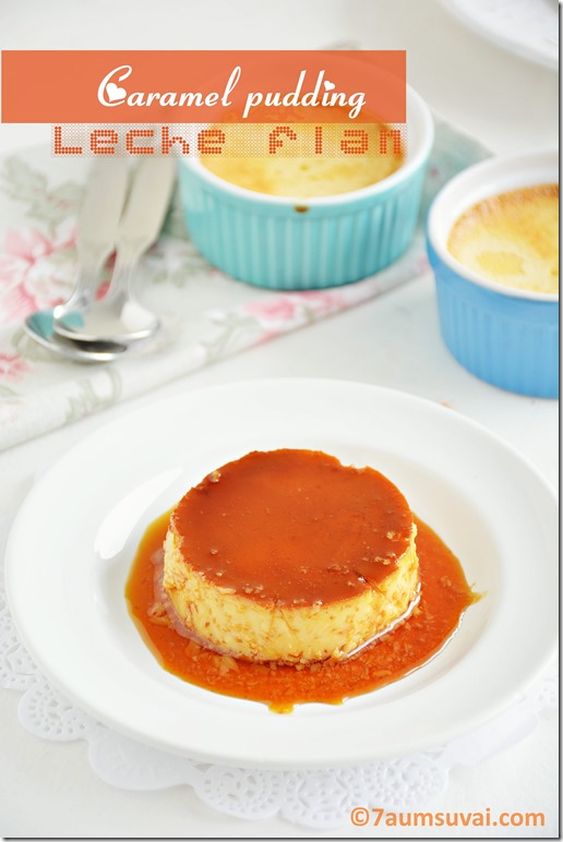 leche flan  / caramel pudding