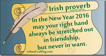 2016 irish proverb