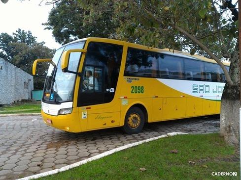 novo ônibus são gabriel-bagé são joão