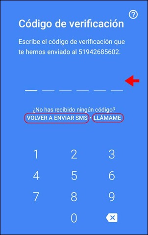 Abrir mi cuenta Google Duo - 560