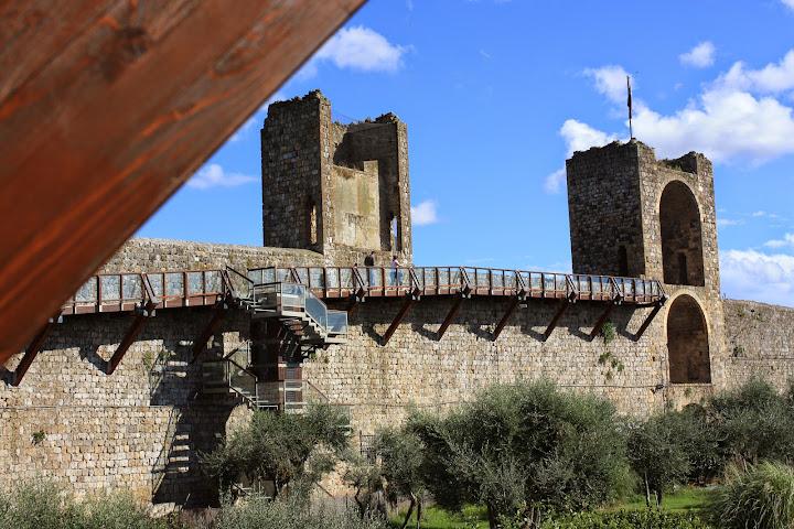 Moteriggioni Sciena Tuscany Italy