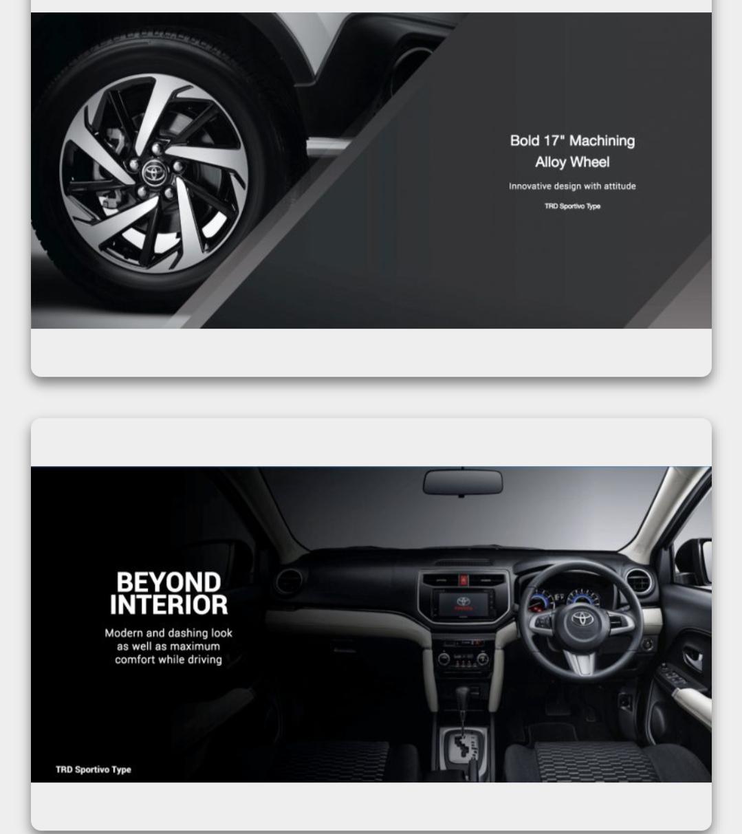 Interior Exterior Toyota New Rush 2