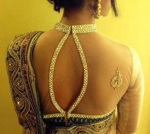 Net Saree Blouse Designs for that Royal Touch