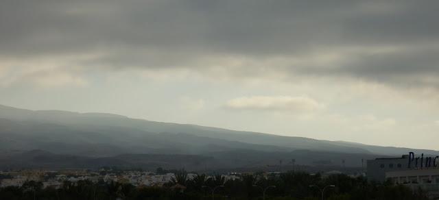Gran Canarias Berge im Morgenlicht
