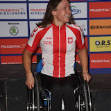 OIC - ENTSIMAGES.COM - Elite Hand Cyclist ladies winner 1st place Mrs Renata Kaluza at the Prudential RideLondon Grand Prix 2016    in London  29th July 2016 Photo Mobis Photos/OIC 0203 174 1069