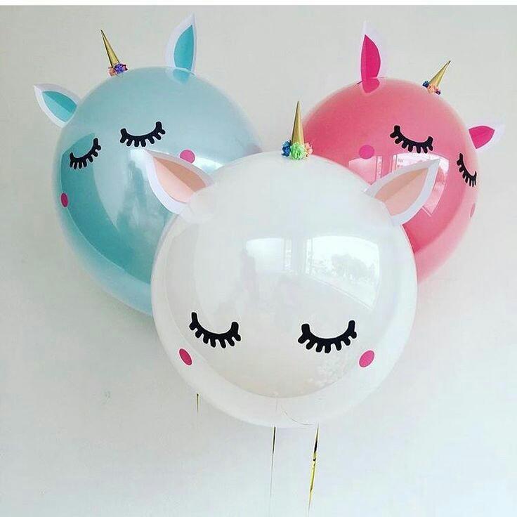 más y más manualidades: Ideas con globos para una fiesta con tema de ...